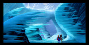 Concept art from &quot;Frozen.&quot;