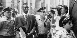 Yusef Salaam in &quot;The Central Park Five.&quot;