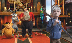 A scene from &quot;Rise of the Guardians.&quot;