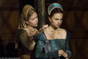 Scarlett Johansson and Natalie Portman in &quot;The Other Boleyn Girl.&quot;