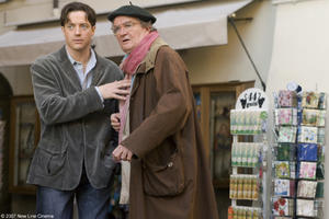 Brendan Fraser and Jim Broadbent in &quot;Inkheart.&quot;