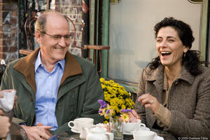 Richard Jenkins and Hiam Abbass in &quot;The Visitor.&quot;
