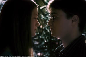 Bonnie Wright as Ginny Weasley and Daniel Radcliffe as Harry Potter in &quot;Harry Potter and the Half-Blood Prince.&quot;