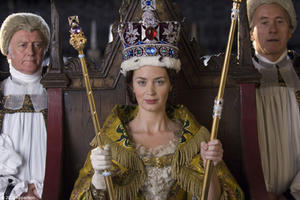 "Emily Blunt as Queen Victoria in ""The Young Victoria."""