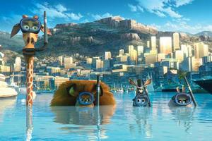 Melman, Alex, Marty and Gloria in ``Madagascar 3: Europe&#39;s Most Wanted.&#39;&#39;