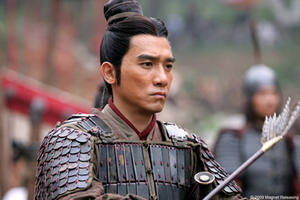 "Takeshi Kaneshiro as Zhuge Liang in ""Red Cliff."""