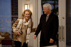 Meryl Streep as Jane and Steve Martin as Adam in &quot;It&#39;s Complicated.&quot;