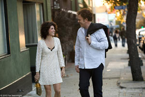 Marisa Tomei as Molly and John C. Reilly as John in &quot;Cyrus.&quot;