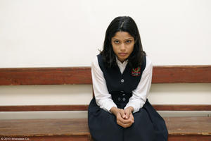"Freida Pinto as Miral in ""Miral."""