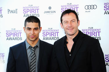 Wilmer Valderrama and Jason Isaacs