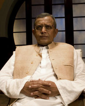 Mithun Chakraborty as Manikdas &#39;Nanaji&#39; Gupta in &quot;Guru.&quot;
