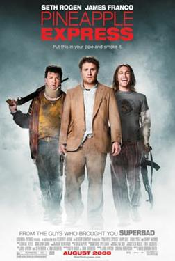 "Poster art for ""Pineapple Express."""