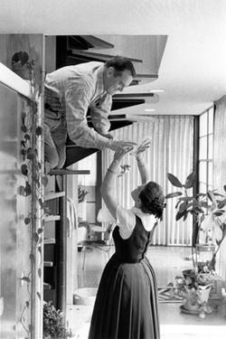 Charles Eames and Ray Eames as seen in ``Eames: The Architect and the Painter.&#39;&#39;