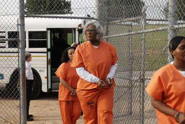 Tyler Perry as Madea in &quot;Tyler Perry&#39;s Madea Goes to Jail.&quot;