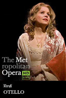 "Poster art for ""The Metropolitan Opera: Otello."""
