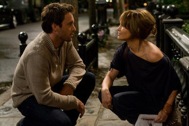 Alex OLoughlin and Jennifer Lopez in &quot;The Back-Up Plan.&quot;