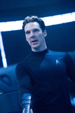Benedict Cumberbatch in &quot;Star Trek into Darkness.&quot;