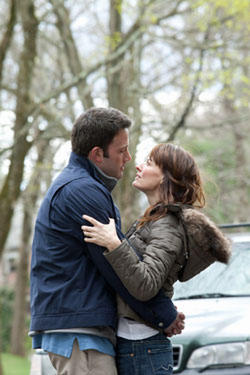 Ben Affleck as Bobby Walker and Rosemarie DeWitt as Maggie Walker  in &quot;The Company Men&quot;
