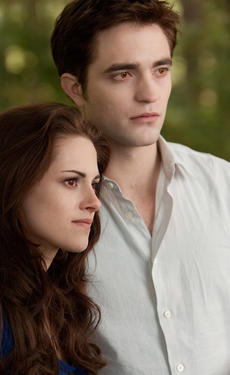 Kristen Stewart and Robert Pattinson in &quot;The Twilight Saga: Breaking Dawn - Part 2.&quot;