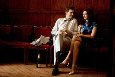 Jim Sturgess and Anne Hathaway in &quot;One Day.&quot;