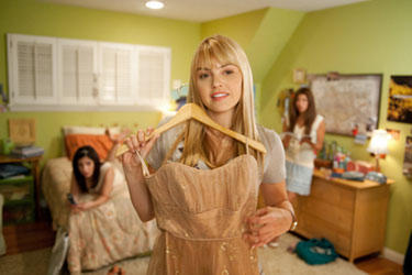Aimee Teegarden as Nova in &quot;Prom.&quot;