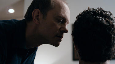 David Hyde Pierce and Clayne Crawford in &quot;The Perfect Host.&quot;
