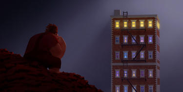 Wreck-It Ralph voiced by John C. Reilly in &quot;Wreck-It Ralph.&quot;