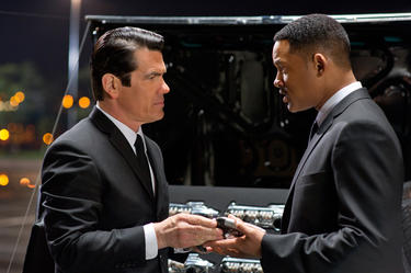 Josh Brolin and Will Smith in &quot;Men in Black III.&quot;