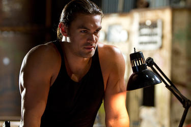 Jason Momoa as Keegan in &quot;Bullet To The Head.&quot;