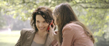 Juliette Binoche and Anas Demoustier in &quot;Elles.&quot;