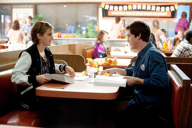 Emma Watson and Logan Lerman in &quot;The Perks Of Being A Wallflower.&quot;