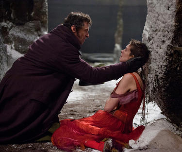 Hugh Jackman and Anne Hathaway in &quot;Les Miserables.&quot;