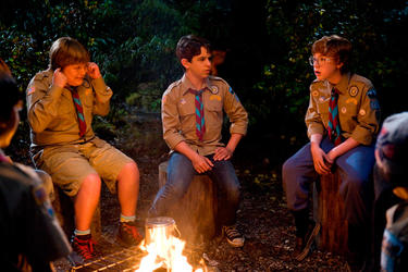 Robert Capron, Zachary Gordon and Grayson Russell in &quot;Diary of a Wimpy Kid: Dog Days.&quot;