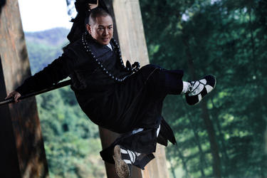 Jet Li in &quot;The Sorcerer and the White Snake.&quot;