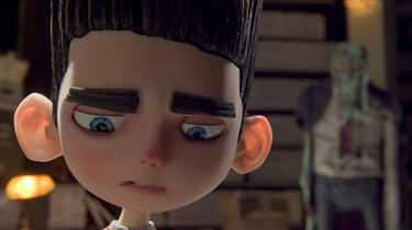 Norman voiced by Kodi Smit-McPhee in &quot;ParaNorman.&quot;
