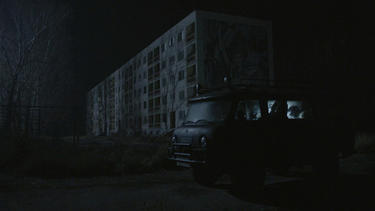 A scene from &quot;Chernobyl Diaries.&quot;