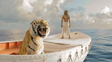Suraj Sharma as Pi Patel in &quot;Life of Pi.&quot;