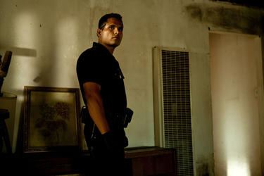 Michael Pena in &quot;End of Watch.&quot;