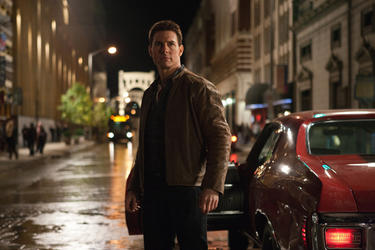 Tom Cruise in &quot;Jack Reacher.&quot;