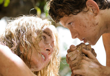 Naomi Watts and Tom Holland in &quot;The Impossible.&quot;