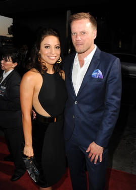 Writer Kay Cannon and Director Jason Moore at the California premiere of &quot;Pitch Perfect.&quot;