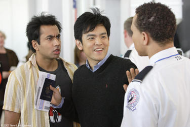 Kal Penn and John Cho in &quot;Harold and Kumar Escape From Guantanamo Bay.&quot;