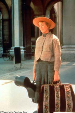 Julie Andrews as Maria in ``The Sound of Music.''