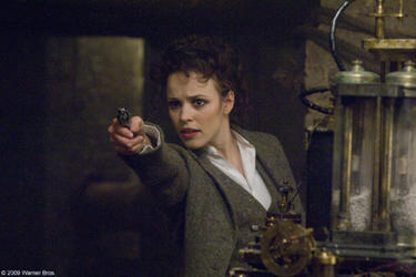 Rachel McAdams as Irene Adler in &quot;Sherlock Holmes.&quot;