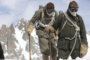 Conrad Anker and Leo Houlding in &quot;The Wildest Dream: Conquest of Everest.&quot;