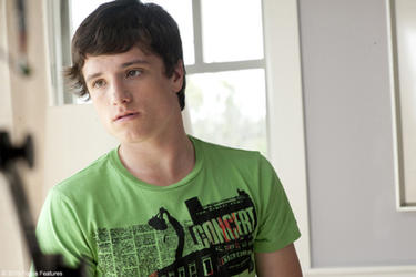 Josh Hutcherson as Laser in &quot;The Kids Are All Right.&quot;
