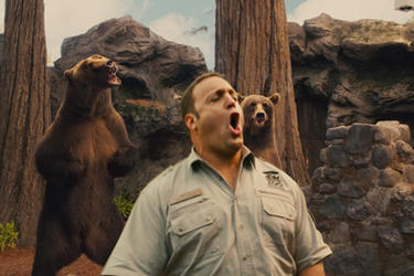 Kevin James as Griffin Keyes in ``Zookeeper.&#39;&#39;