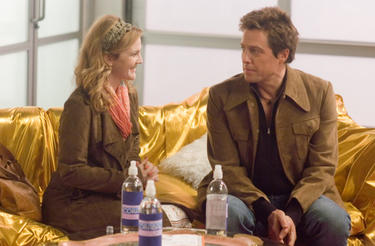 "Drew Barrymore and Hugh Grant in ""Music and Lyrics."""
