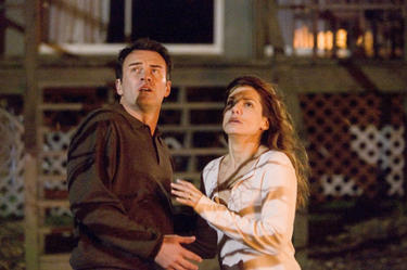 Julian McMahon and Sandra Bullock in &quot;Premonition.&quot;