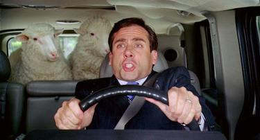 "Steve Carell in ""Evan Almighty."""